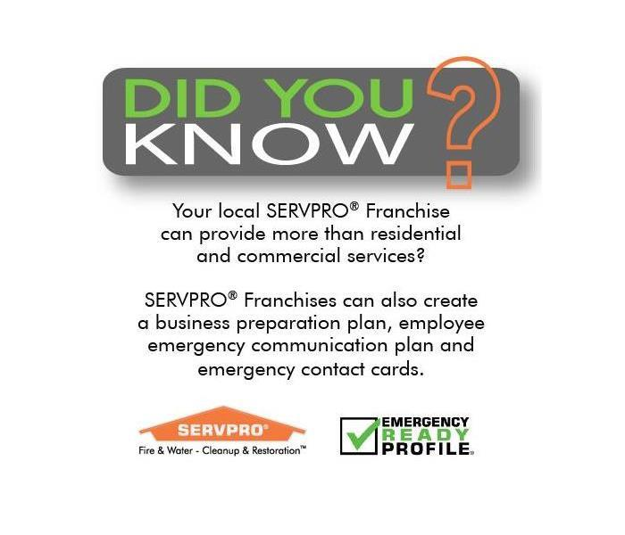 SERVPRO Emergency Ready Profile